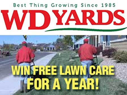 Win free lawn care for a year